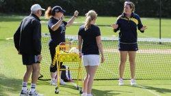 erwachsenen Tennisspieler