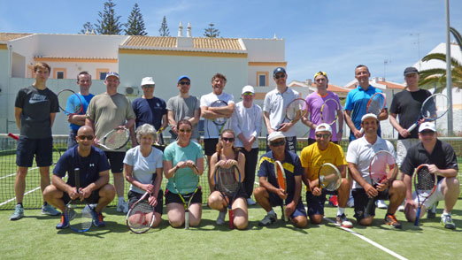 Single player weeks, social tennis holidays