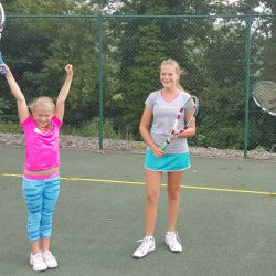 Fun Tennisunterricht im Camp